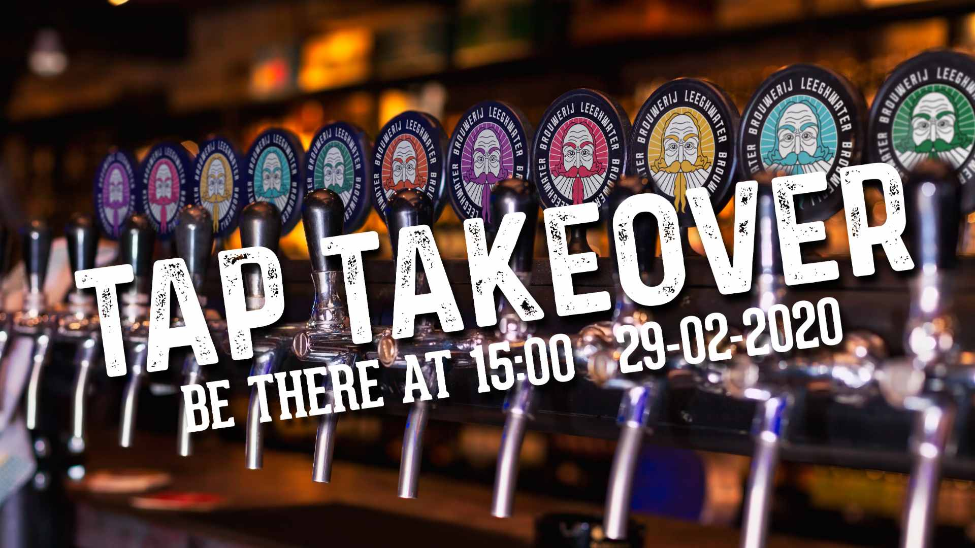 Tap Takeover - Leeghwater